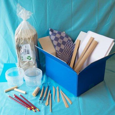 Materiaalbox les 3.3 Totempaal van klei