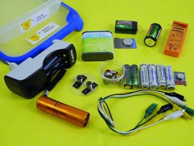 Allerlei batterijen