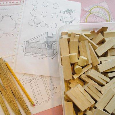 Techniekles 6.1 Een tempel en een flat bouwen