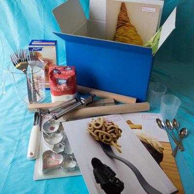 Materiaalbox les 1.2. Zoete of zoute taartjes?