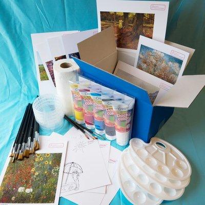 Materiaalbox les 2.5 Kleuren van het seizoen
