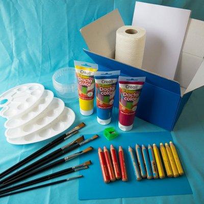 Materiaalbox les 3.7 Kleurencirkel