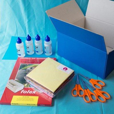 Materiaalbox les 3.8 Doorzichtige kleuren