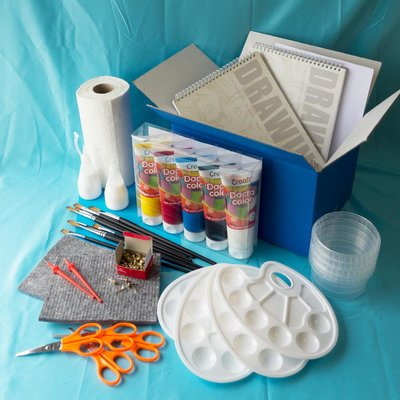 Materiaalbox les 4.10 Kleurenwaaier