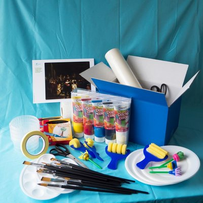 Materiaalbox les 4.13 Levensgrote groep! PROJECT