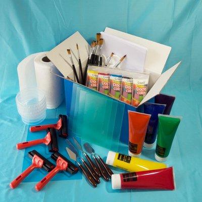 Materiaalbox les 5.6 Schilderen of drukken?