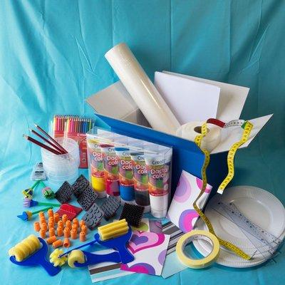 Materiaalbox les 6.12 Vrolijk behangetje PROJECT