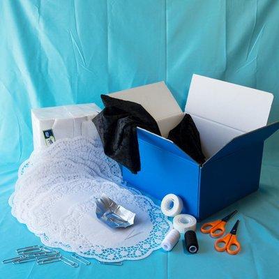 Materiaalbox les 7.4 Een grote kraag!