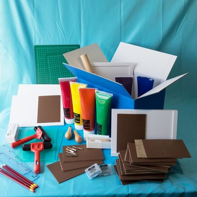 Materiaalbox les 7.12 Drukwerk! PROJECT