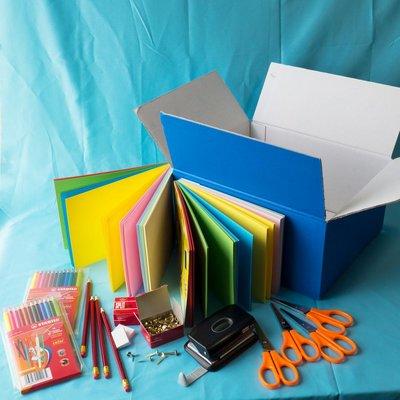 Materiaalbox les 7.13 De trap op! Futuristen