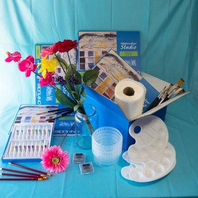 Materiaalbox les 8.10 Zeg het met bloemen