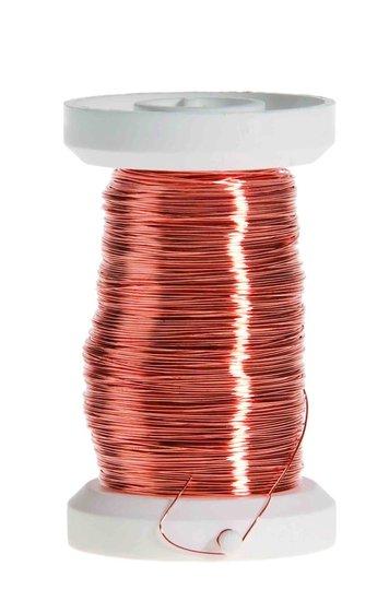 Koperdraad gelakt 0.5 mm