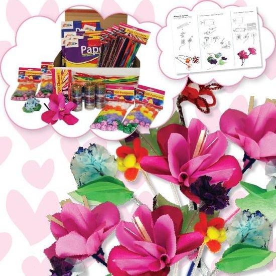 Knutselbox Bloemen maken