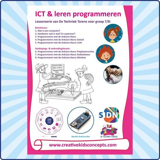 Lessenserie 'ICT & leren programmeren' met de Arduino Nano